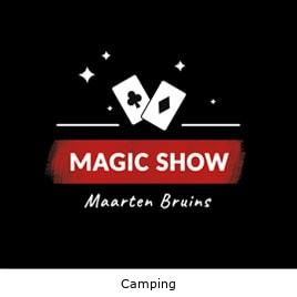 Goochelaar camping