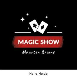 Goochelaar Halle Heide
