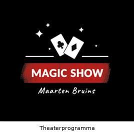 Goochelaar theaterprogramma