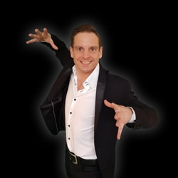 Goochelaar Maarten Bruins