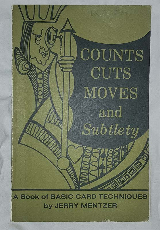 Count cuts moves and subtlety - Jerry Mentzer