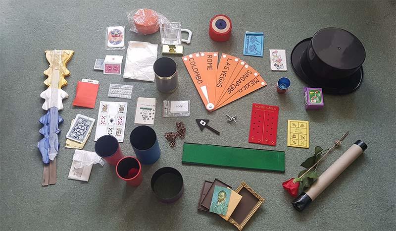 Diverse overgebleven items