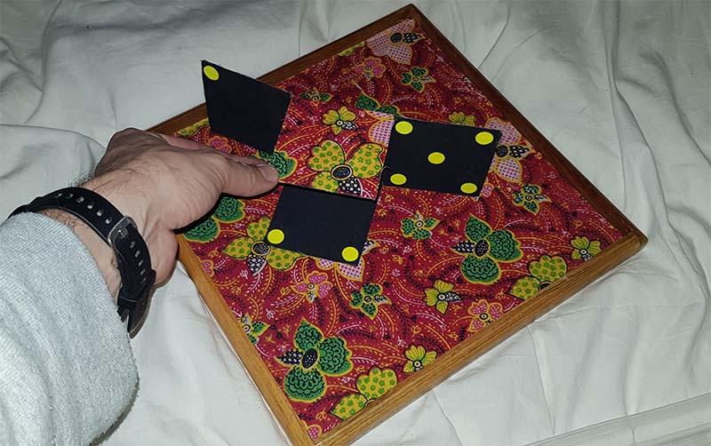 Dobbelsteen tray