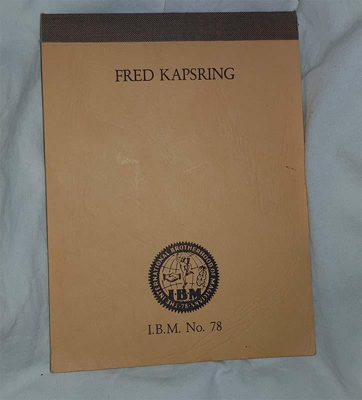 Fred Kapsring - IBM