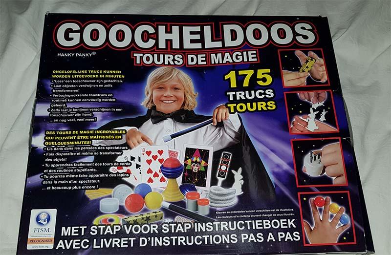 Goocheldoos tours de magie
