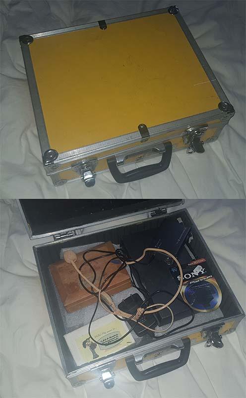 Headset koffer