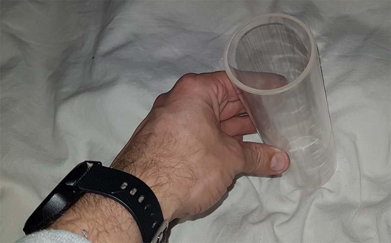 Koker transparant