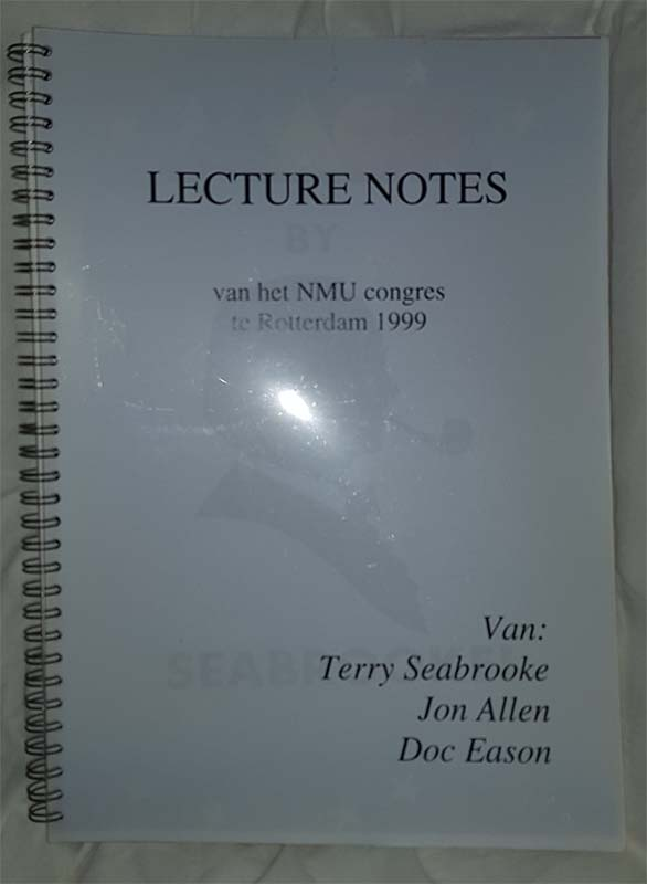 Lecture notes - NMU congres 1999