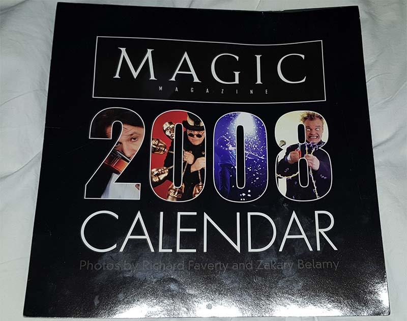 Magic 2008 calender