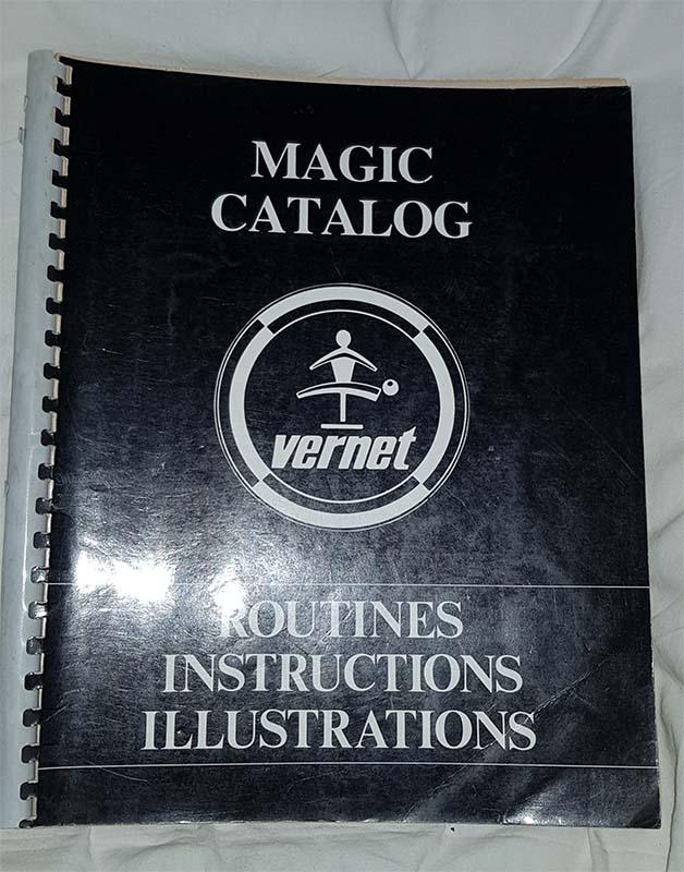 Magic catalog - Vernet
