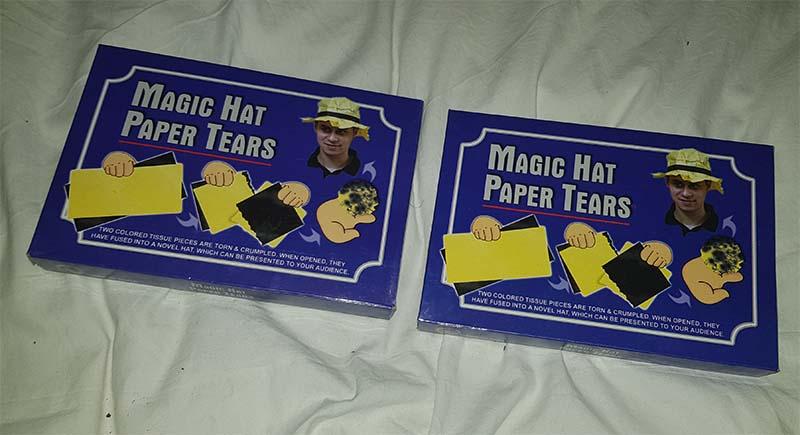 Magic hat paper tears 2x