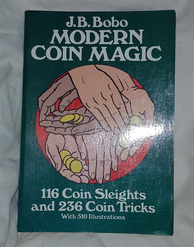 Modern coin magic - J.B. Bobo