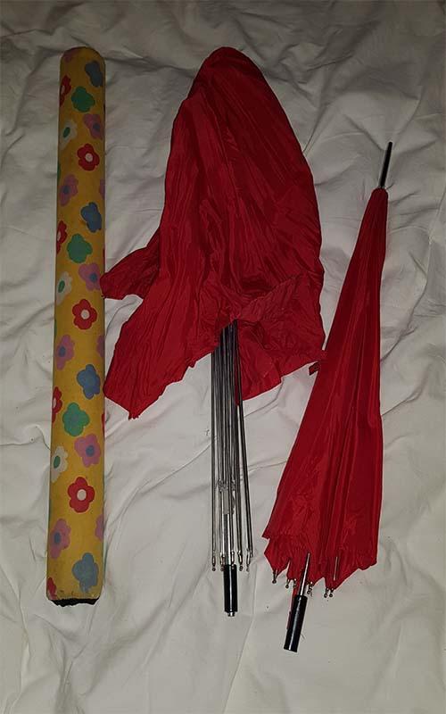 Paraplu changeer