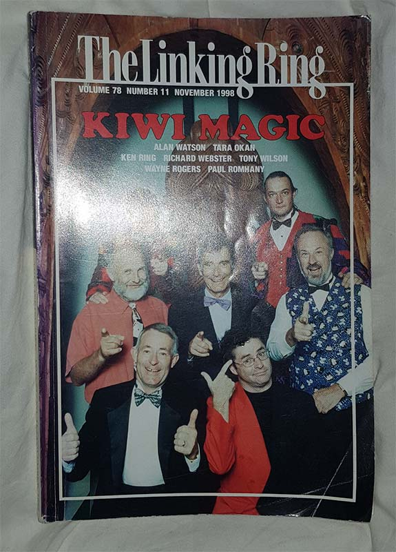 The linking ring - Volume 78 number 11 November 1998