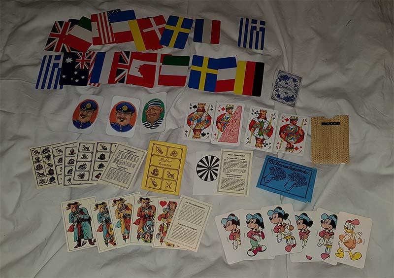 Verschillende kaartentrucs